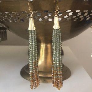 Jewelry - Ombré Beaded Dangle Earrings